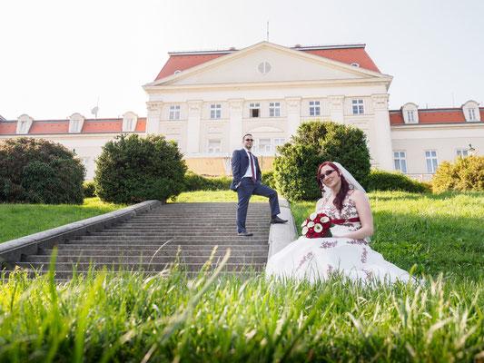 Hochzeit am Schloss Wilhelminenberg