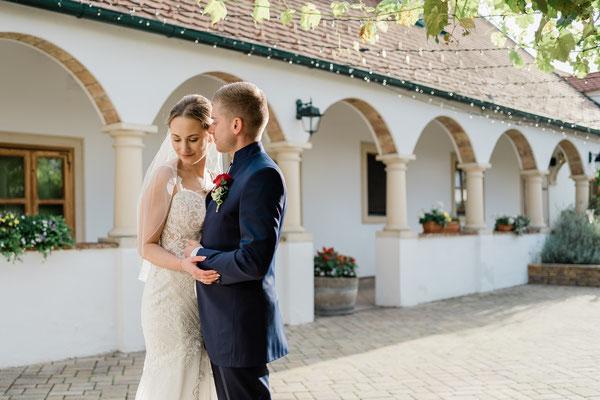 Hochzeit am Weingut Liszt in Leithaprodersdorf