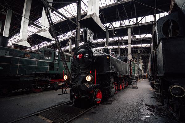 Fotoworkshop der Kreativen Fotowerkstatt Marchfeld im Eisenbahnmuseum Heizhaus in Strasshof