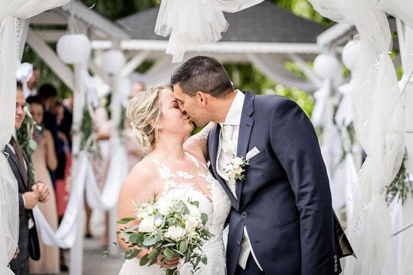 Hochzeitsfeier Hochzeitsgarten Lobau
