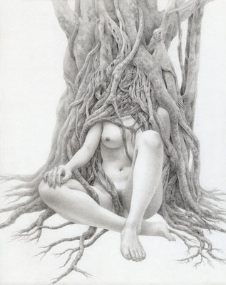 家 / 2013 / pencil on paper / 273×220mm