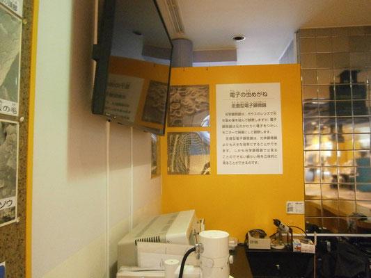 壁面は元々ブラウン管が設置されていた為に充分な強度があるので、サイネージモニターを取り付けて完成です。