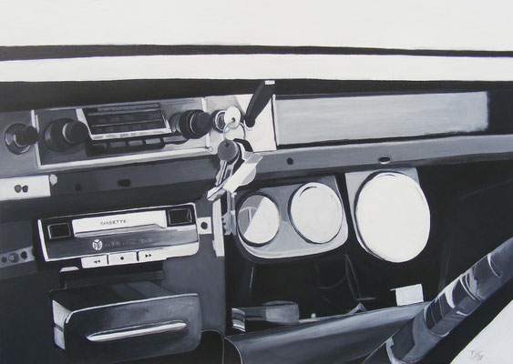 'Bombay Dash' acrylic on canvas 2012