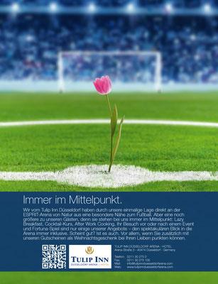 Keyvisual für das Tulip Inn Hotel in Düsseldorf - kvell Marketing GmbH