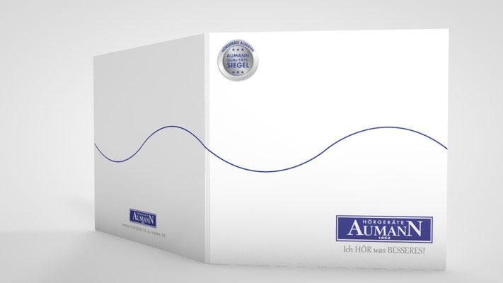Ideen und Gestaltung eines Card Holders für die Aumann Kundenkarten