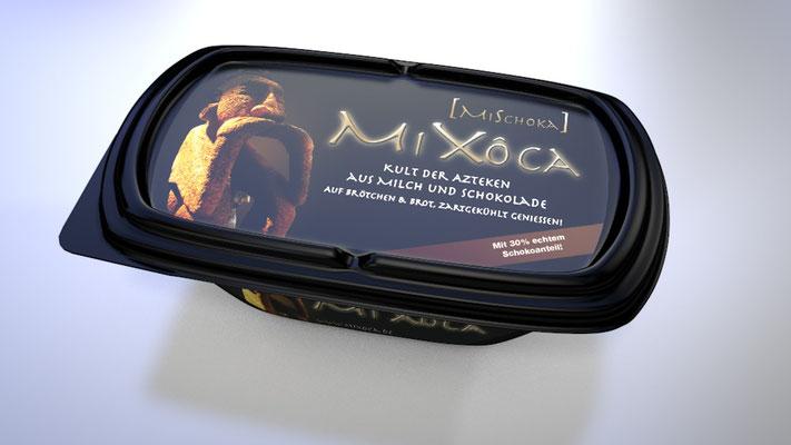Visualisierung eines neu entwickelten Produktes - Mixoca Brotaufstrich