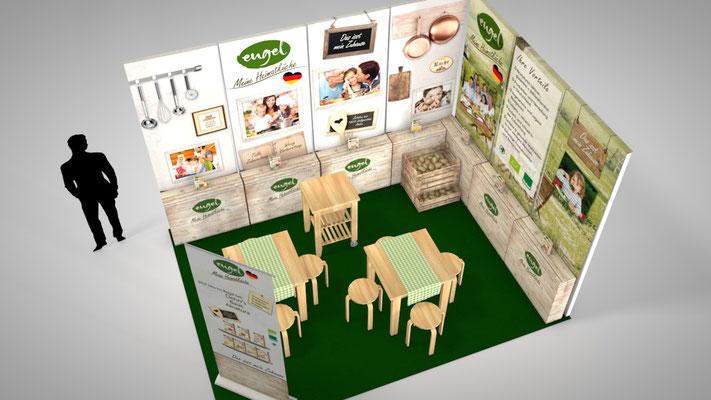 Messestand für Engel Food Solutions - Ideen und Umsetzung