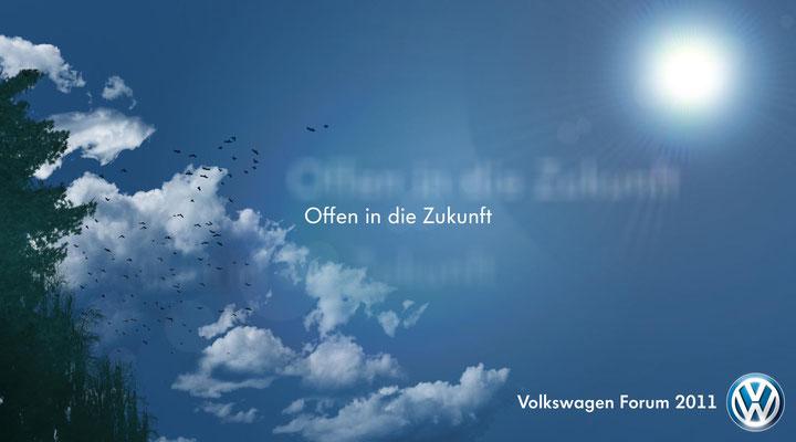 Keyvisual für einen Pitch für das Volkswagen Forzum 2011 für VW - kvell Marketing GmbH