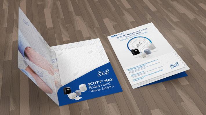 Visualisierung von Printmaterialien für Kimberly-Clark Professional