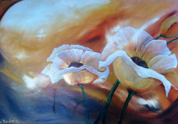 """""""Sonne im Herzen"""" von Tanja Trenker 100x120cm, 2011"""