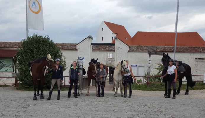 Ritt zur Burg Wildenstein