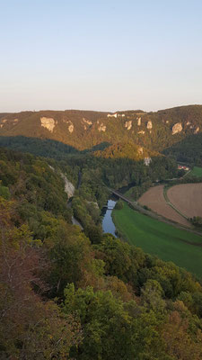 Atemberaubender Blick übers Donautal