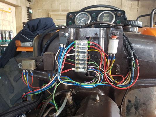 Komplette Neuverkabelung Fiat 1000 DT