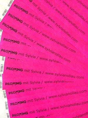 Einlassband für Piloxing® Workshop