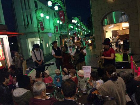 2013 Asagaya Jazz Streets 矢野忠と青空ロマンス楽団
