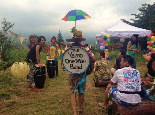 Yanoo One Man Band in 朝霧