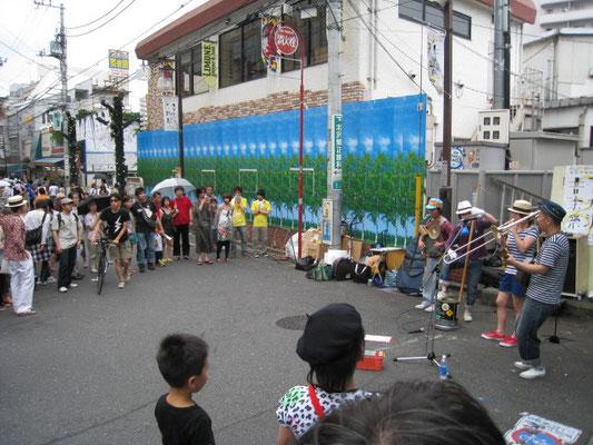 枡家小雪&イタズラボーイズ 下北沢音楽祭
