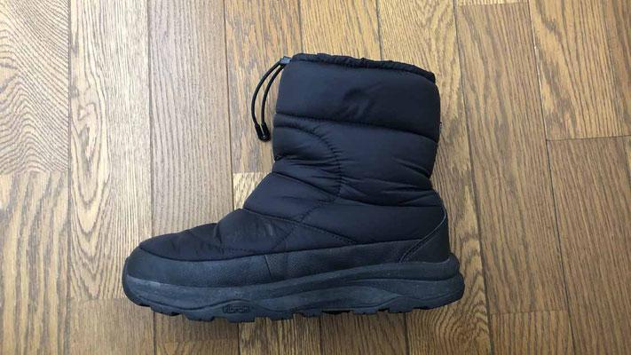 ノースフェイス ヌプシブーティー 冬の釣りに最適な防水・防寒ブーツ