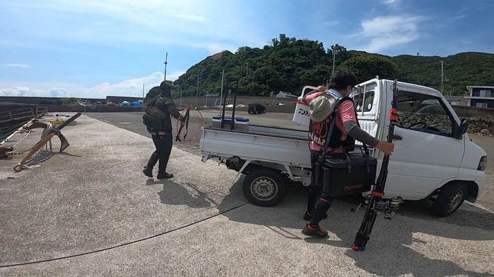 和歌山の沖磯で青物・シイラ狙いのショアジギング ロックショア/ヒラバエ