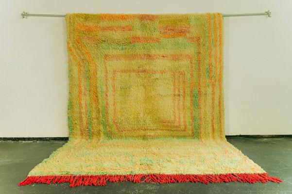 Berber Rug Azilal Teppich Multicolor pastel