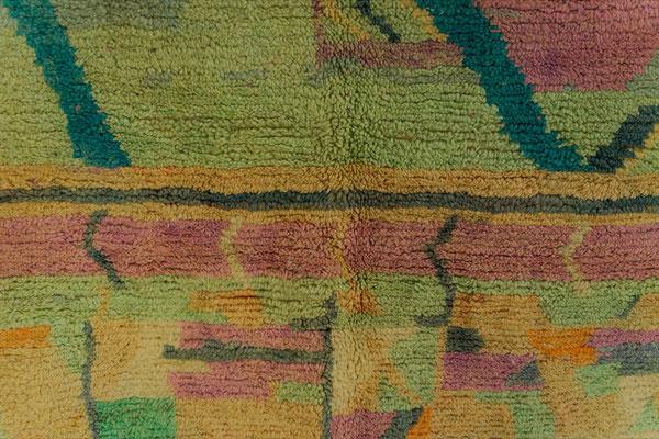 Berber Rug Azilal Teppich Multicolor Green