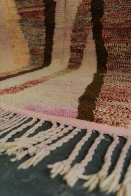Berber Rug Azilal Teppich Multicolor Rose