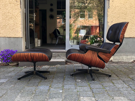 Eames Lounge Chair Vitra Palisander