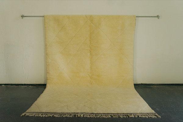 Berber Rug Azilal Teppich White White White