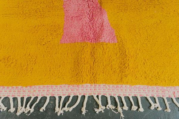 Berber Rug Azilal Teppich Pink Orange White