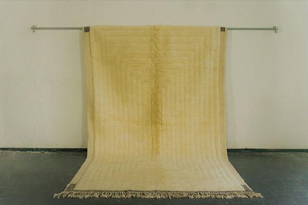 Berber Rug Azilal Teppich White White Caro