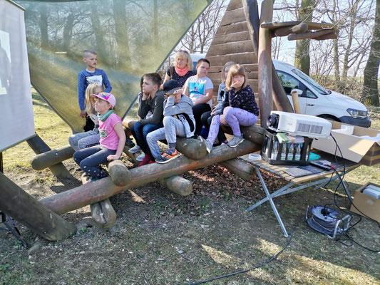 Besuch des Fledermausgartens in Langenwolschendorf