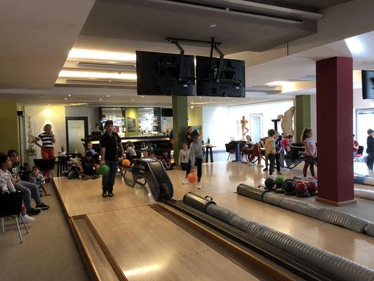Bowling im Seehotel