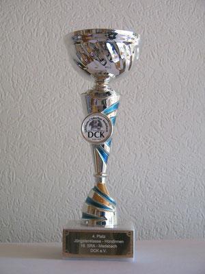 4 Platz Jüngstenklasse - Hündinnen - Medebach DCK 20.09..2014