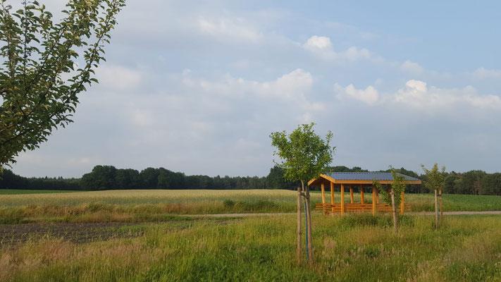 """Raststätte Ecke """"Brandberg/Bei der neuen Mühle"""""""