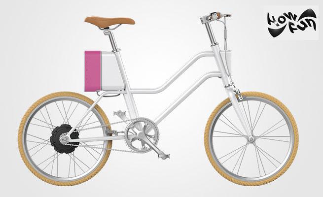 trendiges city e bike f r damen und herren how. Black Bedroom Furniture Sets. Home Design Ideas