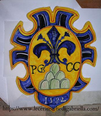 stemma nobile antica riproduzione