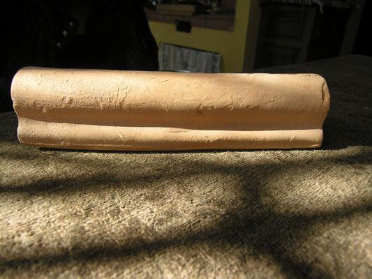 listello in cotto fatto a mano di circa 20 cm 15,00 euro al metro lineare