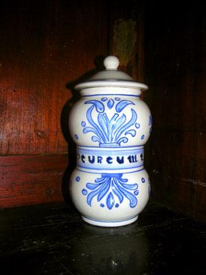 vaso farmacia speziale 20 cm alto Prezzo 30,00 euro Curcuma