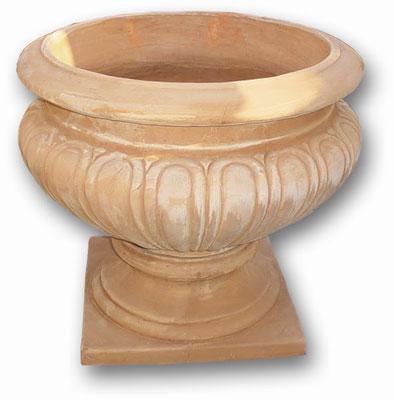 vaso rinascimentale in cotto per ville giardini storici