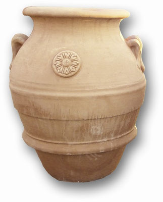 orcio in terracotta fatto a mano