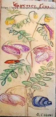 mattonella botanica 15 x 30 cm