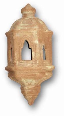 applique medievale in cotto fatto a mano