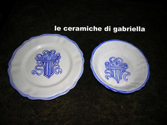 piatti in ceramica da tavola