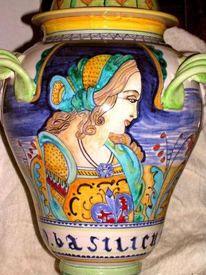 vaso da farmacia H cm 50 basilicum