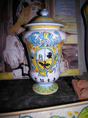 albarello vaso da farmacia alto 40 cm