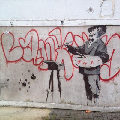 Original Banksy - Portobello Road/ Notting Hill - London