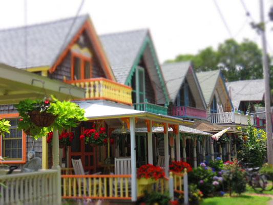 Zuckerbäcker-Häuschen in Oak Bluffs