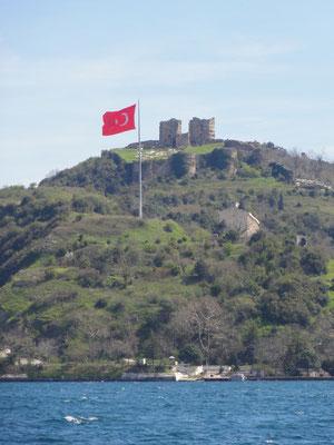 Anadolu Kavagi am nördlichen Ende des Bosporus