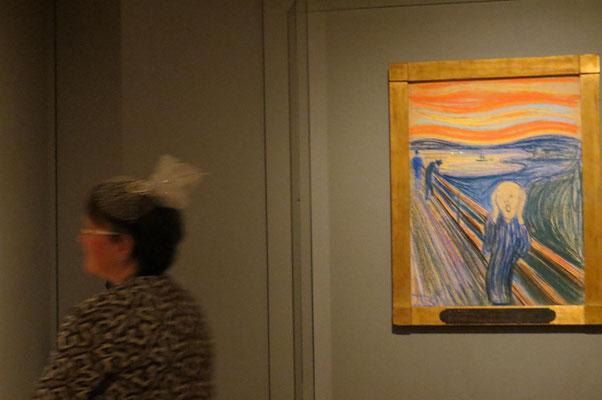Der Schrei - MOMA ist immer einen Besuch wert