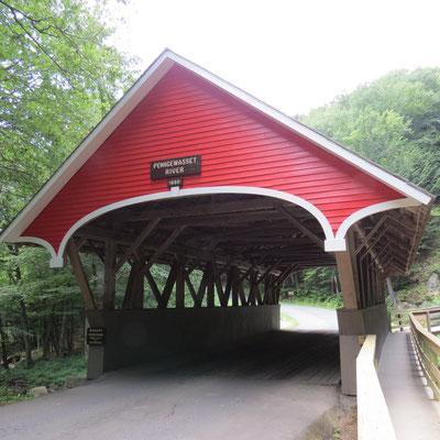 Berühmt ist Neuengland für seine Covered Bridges